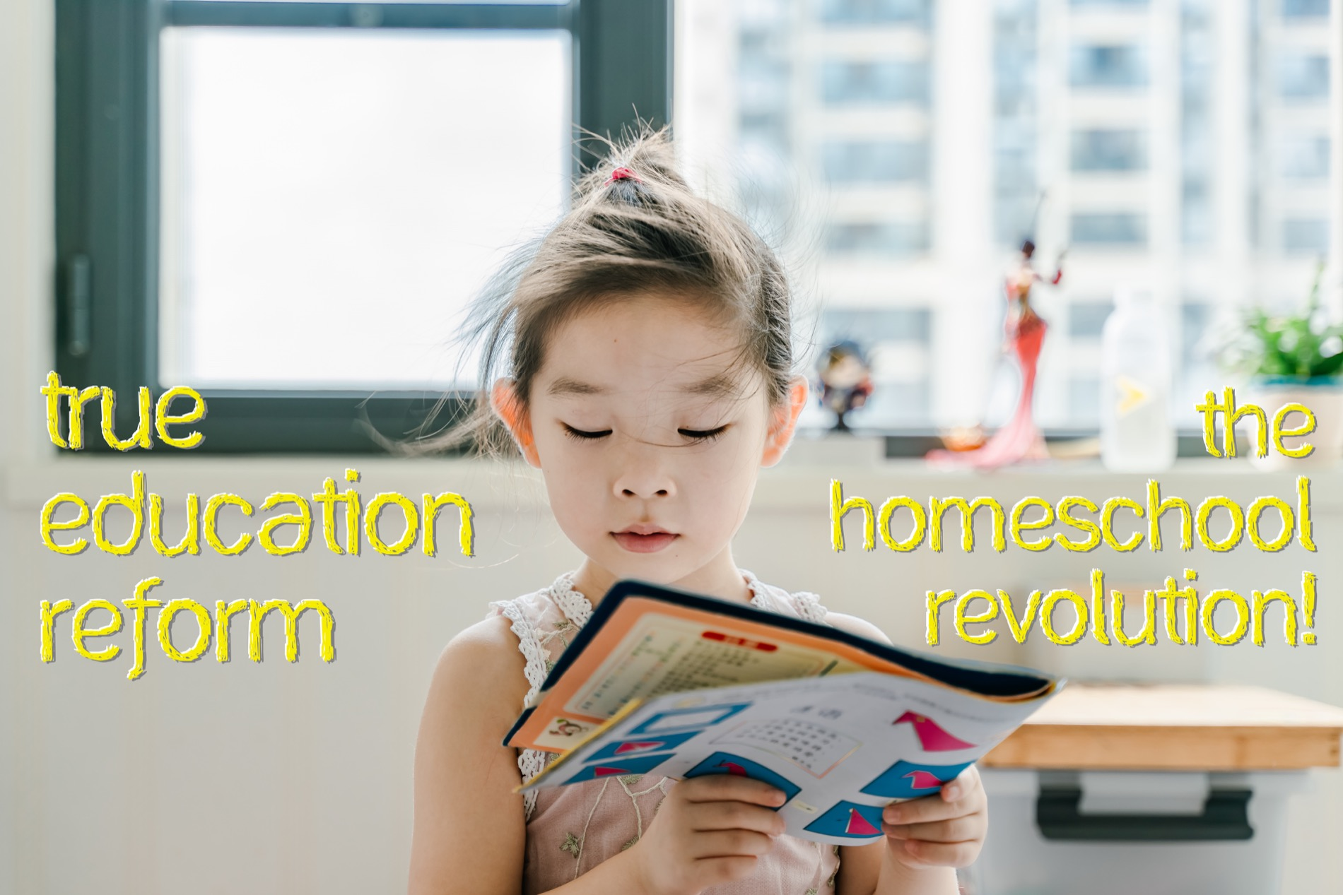 True Education Reform, The Homeschool Revolution!