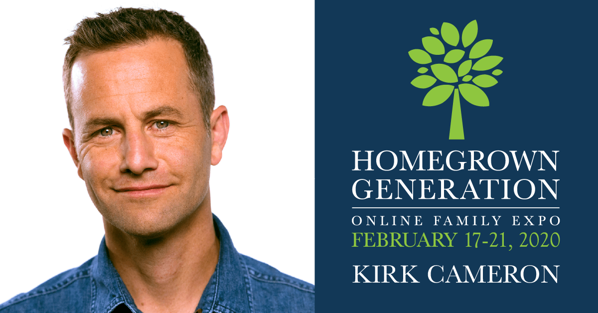 Kirk Cameron – 2020 Homegrown Generation Family Expo Speaker