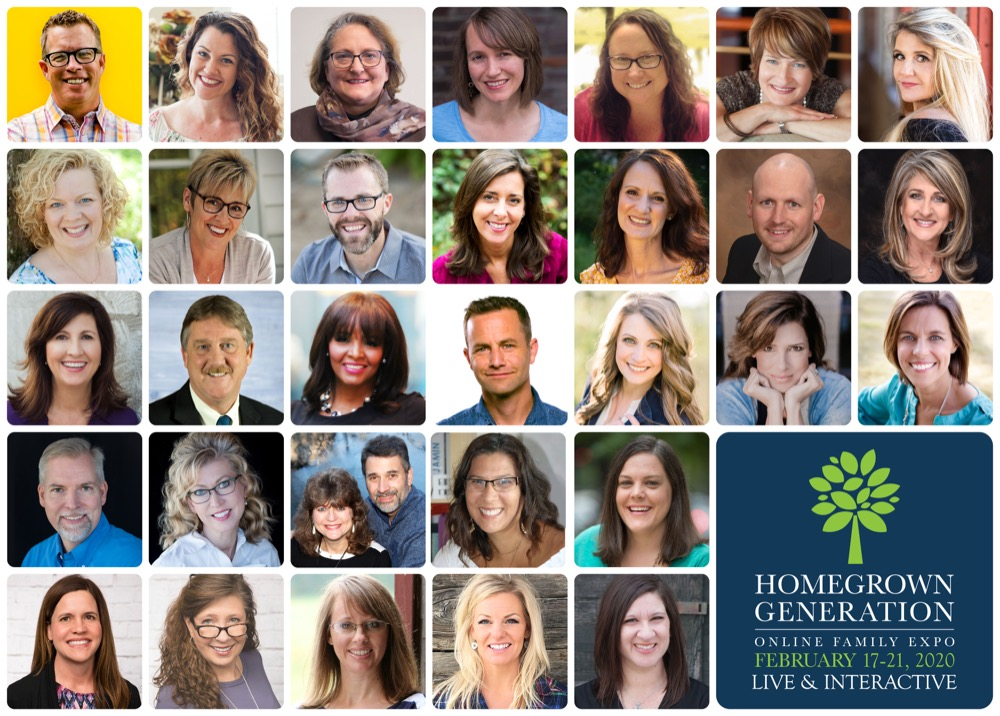 Homegrown Generation Family Expo - Online Homeschool Conference