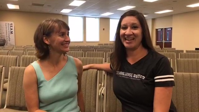 Yvette and Danielle Live at the Wings Lifeschooling Conference in Matthews, North Carolina.